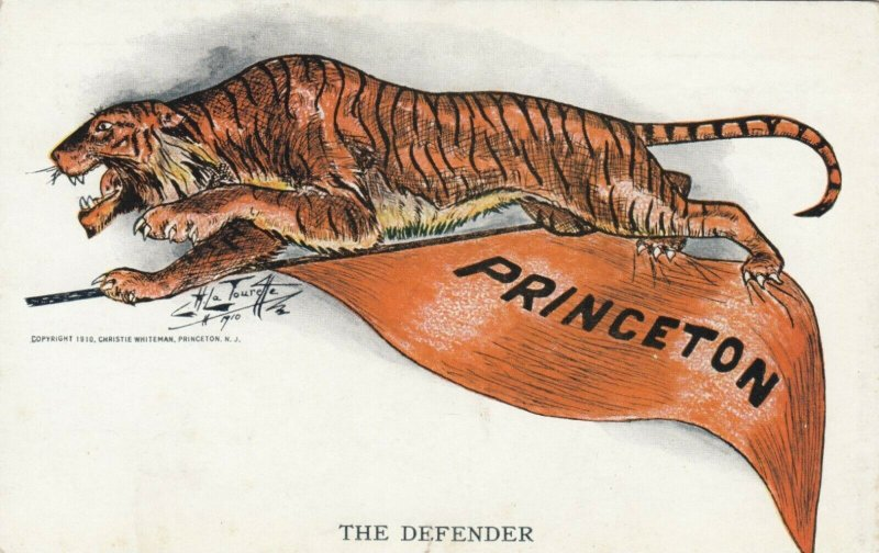 PRINCETON, New Jersey, 1900-10s; Tiger