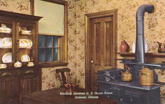 Illinois Galena The Kitchen In The General U S Grant Home