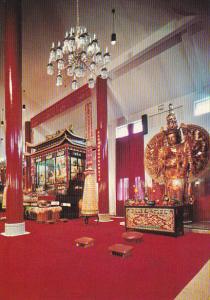 International Buddhist Society Interior Main Hall Richmond British Columbia C...
