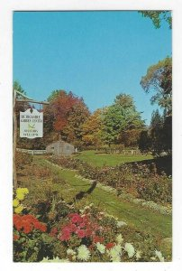 1950's/60's Berkshire Garden Center, West Stockbridge, Mass Chrome Postcard