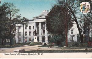 North Carolina Raleigh State Capitol Building 1908
