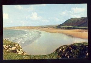 Rhossili Bay, Gower, Wales, Postcard, Gower Peninsula, United Kingdom/UK