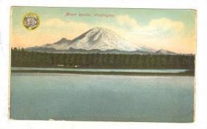 General view of Mount Rainier, Washington,  00-10s