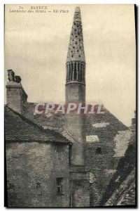 Postcard Old Bayeux Lantern of the Dead