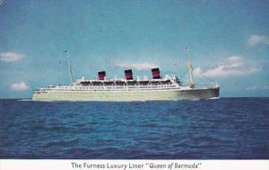 Furness Luxury Liner Queen Of Bermuda