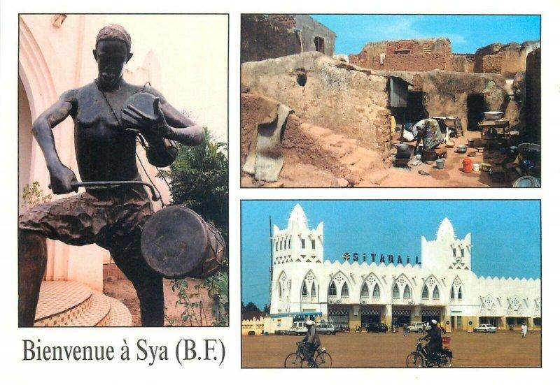 Burkina Faso Sya postcard