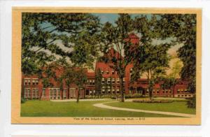 View Of The Industrial School, Lansing, Michigan, 1930-1940s