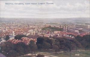 England Bristol General View From Cabot Tower