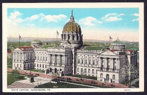 State Capitol Building Harrisburg PA unused c1920's