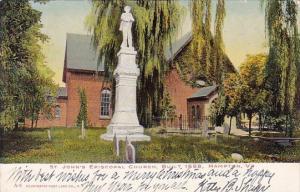 Virginia Hampton Saint John's Episcopal Church Built 1658 1906