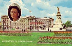 Queen Elizabeth II QUEEN'S SILVER JUBILEE 1977 BUCKINGHAM PALACE Continental
