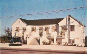 Miami Florida Up to Date Efficiency Apartments 1940s Postcard Raymond 9670