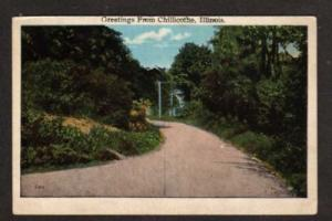 IL Greetings From CHILLICOTHE ILLINOIS Postcard