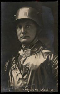 3rd Reich Germany 1924 Goering NSDAP Propaganda Real Rhoto RPPC USED 91737