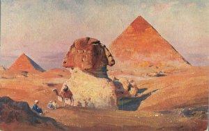 Egypt - Le Sphinx et les Pyramides Sphinx and Pyramids 04.46