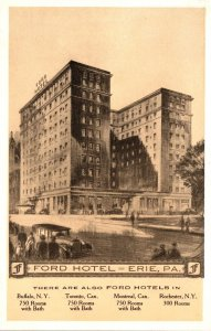 Pennsylvania Erie The Ford Hotel