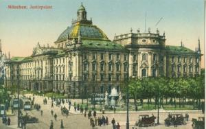 Germany, Munchen, Munich, Justizpalast, early 1900s unuse...