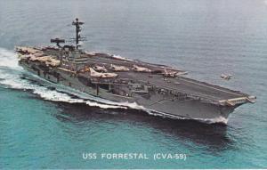U. S. S. Forrestal (CVA - 59), 1940-1960s