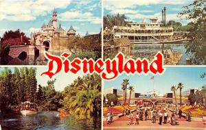 Disneyland California~Sleeping Beauty Castle~Steamboat~Junglecruise~Tomorrowland