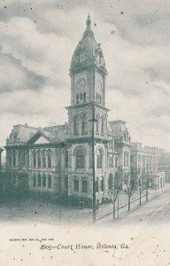 ATLANTA , Georgia , 1901-07 ; Court House