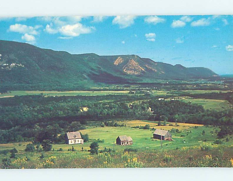 Pre-1980 PANORAMIC Sunrise Valley On Cape North Breton - Near Ingonish NS F9149