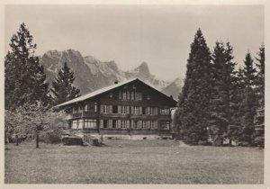 Helmstatte Der Reformierten Jugend Gwatt Swiss RPC Postcard