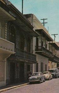 OLD SAN JUAN, Puerto Rico, 40-60s; Cristo Street