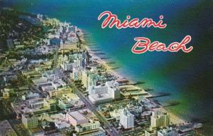 Florida Miami Beach Aerial View From 15th Street North