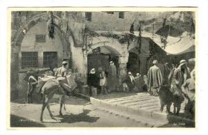 Street Scene, Jerusalem, Israel, PU