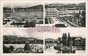 Old Postcard Remembrance Geneva