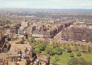 Scotland Edinburgh from the Castle Ramparts