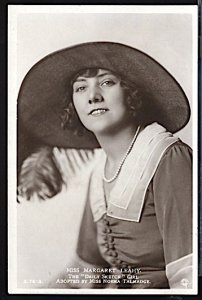Margaret Leahy English Theater Actress Daily Sketch Girl RPPC