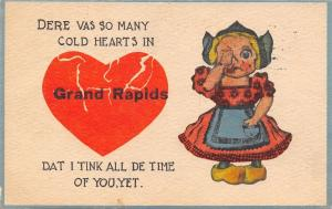 Grand Rapids MI I Was Broken-Hearted~I Should Worry Like A Glue Bottle c1914