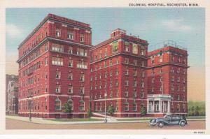 Minnesota Rochester Colonial Hospital Curteich