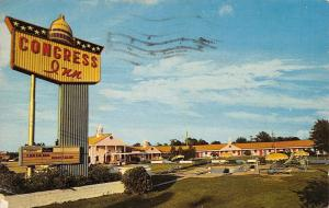 Santee South Carolina~Congress Inn And Restaurant~1970 Postcard