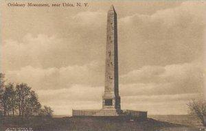 New York Utica Oriskany Monument Albertype