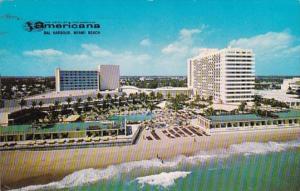 Florida Miami Beach Bal Harbour Americana Hotel 1961
