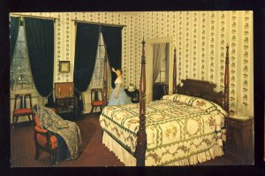 Lancaster, Pennsylvania/PA Postcard, Wheatland, James Buchanan Home, Bedroom
