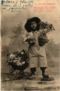 CPA AK A.BERGERET 3 Le petit Jardinier (745278)