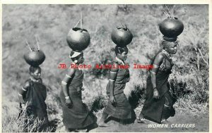 Africa Ethnic Culture, Folklore Costume, Women Water Carriers, Kimble