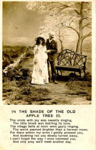 In the Shade of the Old Apple Tree (1) RPPC