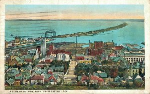 USA - A View Of Duluth Minnesota From The Hill Top 1925 04.11