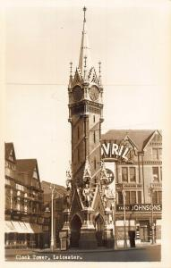 Leicester Clock Tower Johnsons Family Postcard