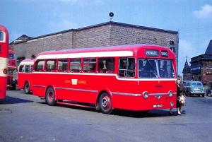 Superb NEW Postcard, Leyland Royal Tiger Weymann, Ideal Service at Barnsley 72L