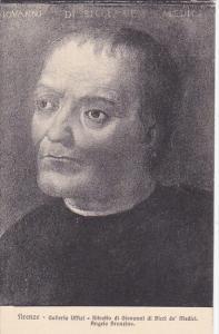 Ritratto di Giovanni di Bici de' Medici by Angiolo Bronzino Galleria Uffizi F...