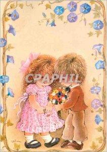 Postcard Modern Children
