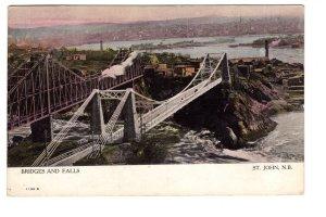 Bridges Falls, St John New Brunswick Warwick, Used  in New Hampshire