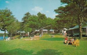 New Hampshire Spofford Camp Notre Dame Social Hall Cabins and Dining Hall