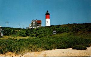 Massachusetts Cape Cod Eastham Nauset Lighthouse