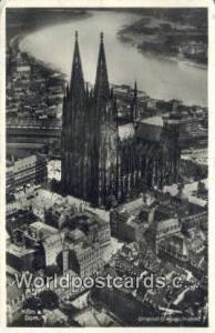 Koln a Rh Germany, Deutschland Postcard Dom Koln a Rh Dom